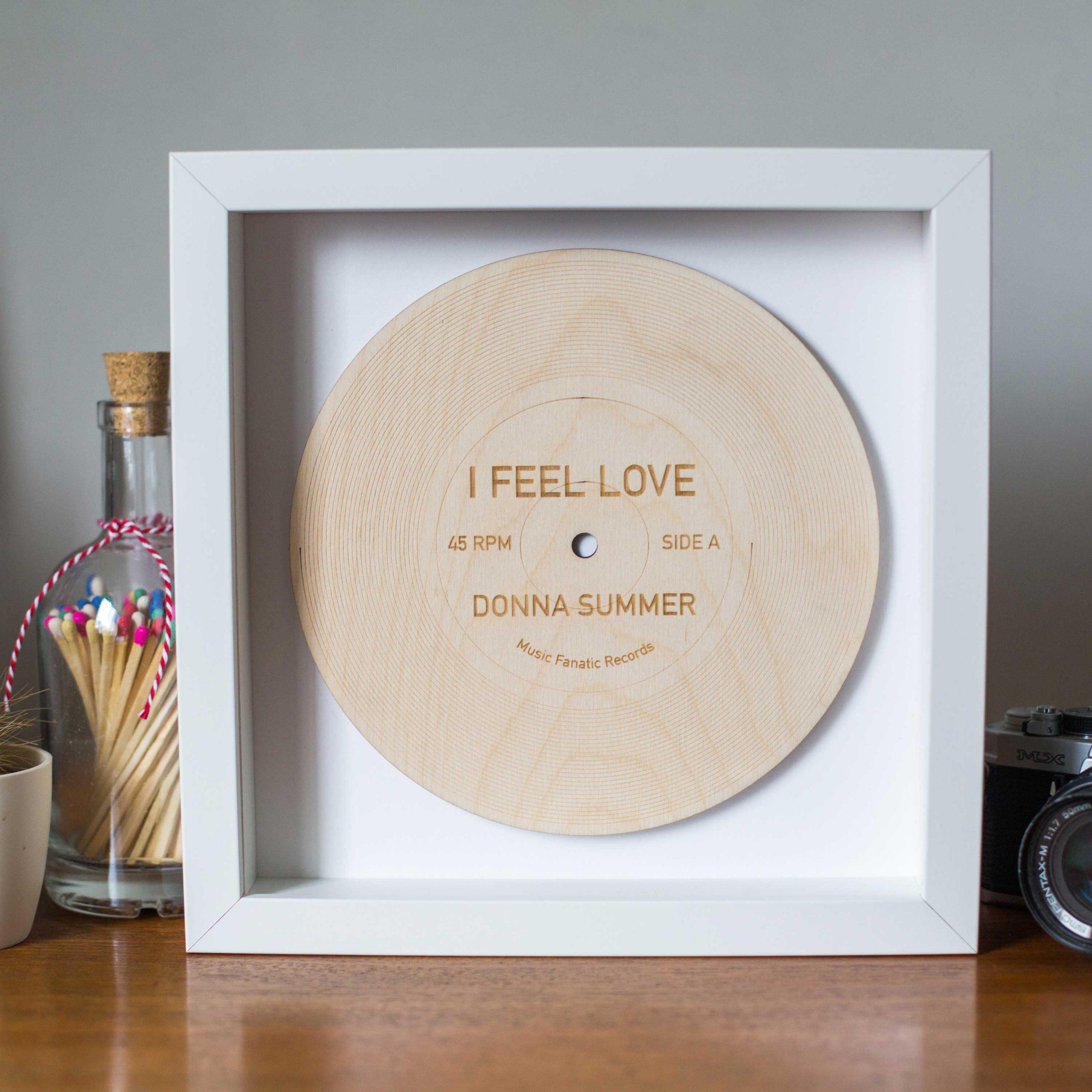 Friday I'm In Love white frame