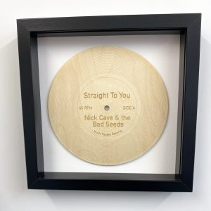 wooden record Straight To You
