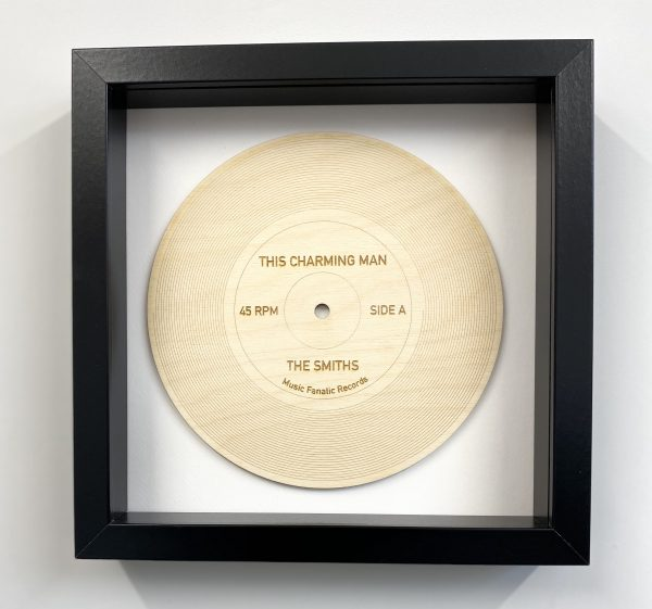 This Charming Man wooden record