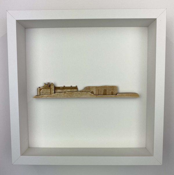 Beadnell Lime Kilns Framed