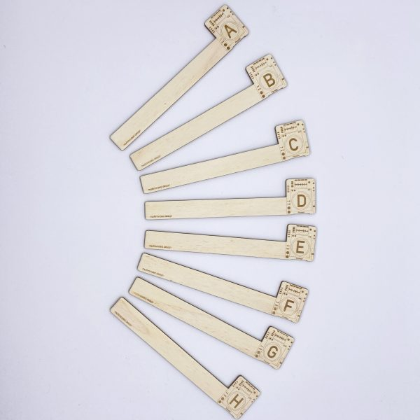 dividers in shape of fan