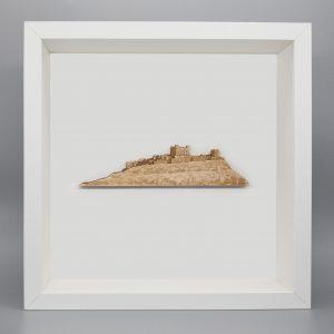 Bamburgh white frame new picture